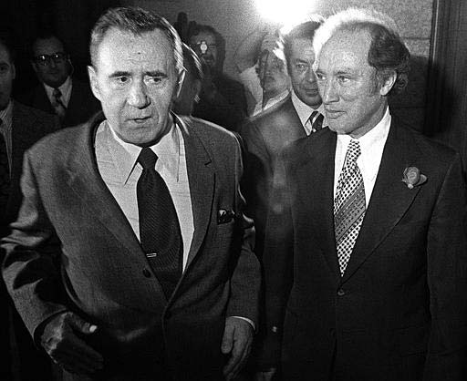 Was Pierre Trudeau justified in invoking the War Measures Act during the October Crisis of 1970?